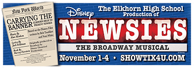 "Elkhorn High School Presents ""Newsies"""