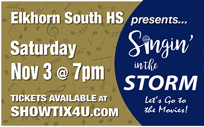 Singin' in the Storm: Let's go to the movies!