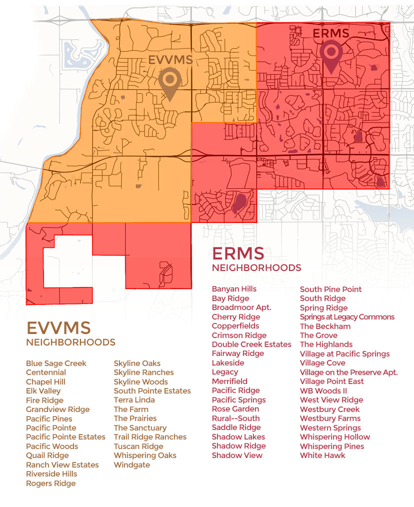 Proposed 2018-19 ERMS & EVVMS Boundaries