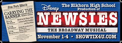 "Elkhorn High School Presents ""Newsies"""