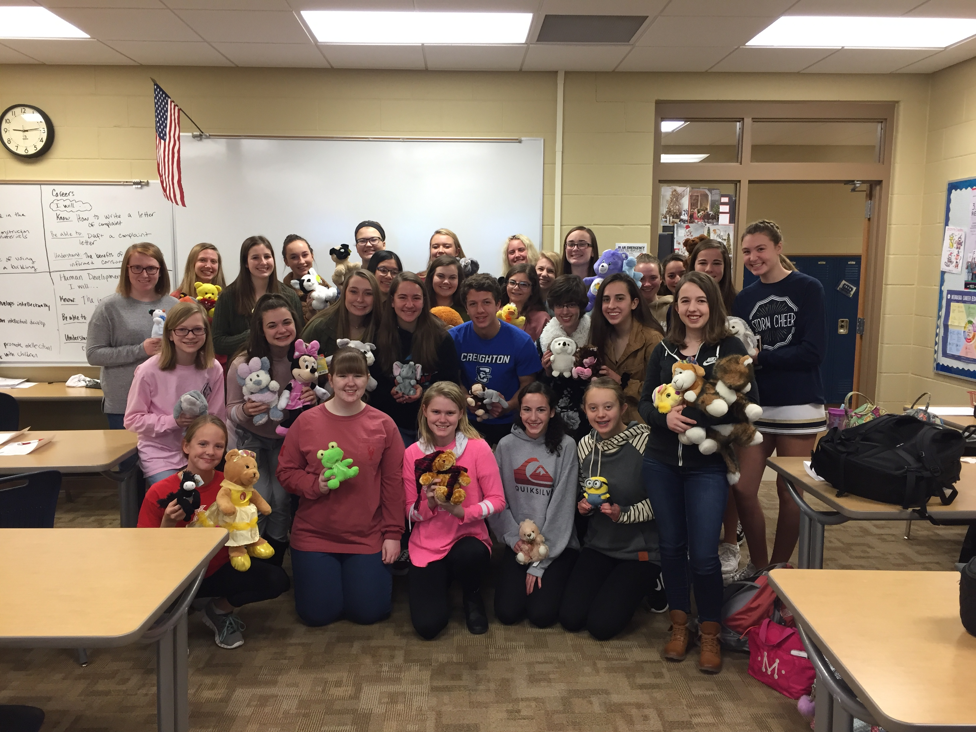 ESHS FCCLA Stuffed Animal Drive