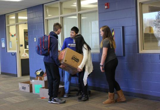 ERMS Canned Food Drive
