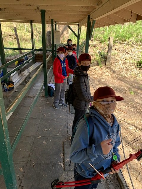 Students at Outdoor Education
